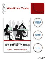 Introduction to Information Systems 5th Edition 9781118779644 1118779649