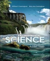 Environmental Science 13th Edition 9780073532547 0073532541
