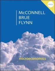 Microeconomics 20th Edition 9780077660819 0077660811