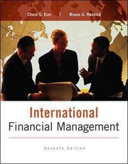International Financial Management 7th Edition 9780077861605 0077861604
