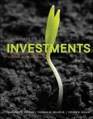 MP Fundamentals of Investments with Stock-Trak card 7th Edition 9780078115660 0078115663