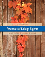 Essentials of College Algebra Plus NEW MyMathLab with Pearson eText --  Access Card Package 11th Edition 9780321912152 0321912152