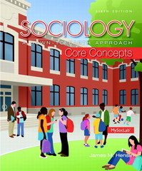 Sociology 6th Edition 9780205999842 0205999840