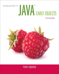 Starting Out with Java 5th Edition 9780133796308 0133796302