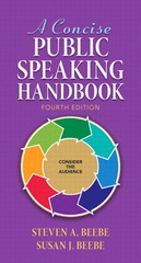 A Concise Public Speaking Handbook 4th Edition 9780205897216 0205897215