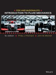 Fox and McDonald's Introduction to Fluid Mechanics 9th Edition 9781118912652 1118912659