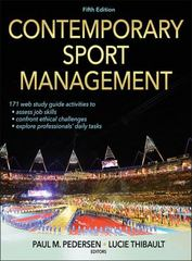 Contemporary Sport Management, 5E 5th Edition 9781450496964 1450496962