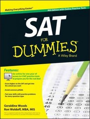 SAT For Dummies, with Online Practice 9th Edition 9781118911495 1118911490