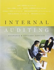 Internal Auditing 3rd Edition 9780894137402 0894137409