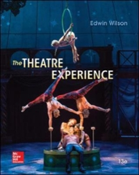The Theatre Experience 13th Edition 9780073514277 0073514276