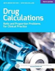 Drug Calculations 10th Edition 9780323316590 032331659X