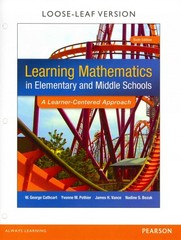 Learning Mathematics in Elementary and Middle School 6th Edition 9780133783780 0133783782