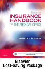 Insurance Handbook for the Medical Office - Text and Workbook Package 14th Edition 9780323316910 0323316913