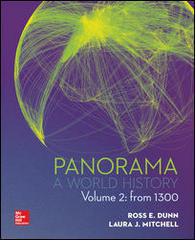 Panorama: A World History Volume 2 1st Edition 9781259154959 1259154955