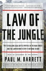 Law of the Jungle 1st Edition 9780770436360 0770436366