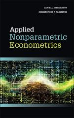 Applied Nonparametric Econometrics 1st Edition 9781107010253 110701025X