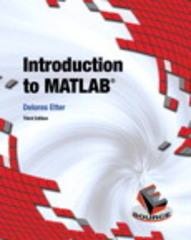 Introduction to MATLAB 3rd Edition 9780133770018 013377001X
