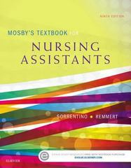 Mosby's Textbook for Nursing Assistants - Soft Cover Version 9th Edition 9780323319744 0323319742