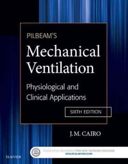 Pilbeam's Mechanical Ventilation 6th Edition 9780323320092 0323320090