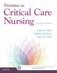 Priorities in Critical Care Nursing 7th Edition 9780323320856 0323320856