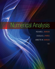 Numerical Analysis 10th Edition 9781305465350 1305465350