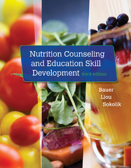 Nutrition Counseling and Education Skill Development 3rd Edition 9781305252486 1305252489
