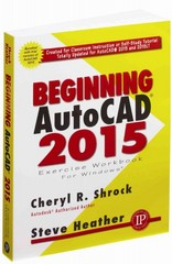 Beginning AutoCAD 2015 1st Edition 9780831134976 0831134976