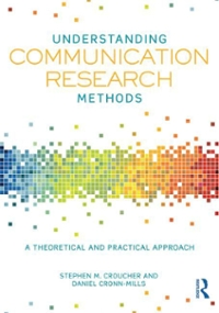 Understanding Communication Research Methods 1st Edition 9780415833110 0415833116