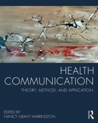 Health Communication 1st Edition 9780415824545 0415824540