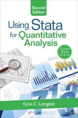 Using Stata for Quantitative Analysis 2nd Edition 9781483356631 1483356639