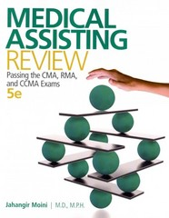 Medical Assisting Review 5th Edition 9780073513829 0073513822