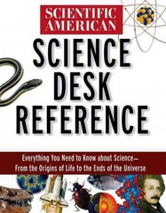 Scientific American Science Desk Reference 0 9781620457184 1620457180