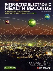 Integrated Electronic Health Records 2nd Edition 9780078135781 0078135788