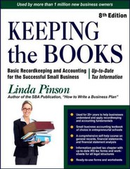 Keeping the Books 8th Edition 9780944205570 0944205577