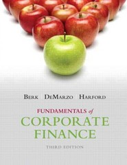 Fundamentals of Corporate Finance Plus NEW MyFinanceLab with Pearson eText -- Access Card Package 3rd Edition 9780133576870 0133576876