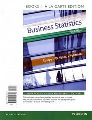 Business Statistics, Student Value Edition 3rd Edition 9780321944726 0321944720
