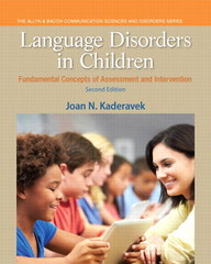 Language Disorders in Children 2nd Edition 9780133352023 0133352021
