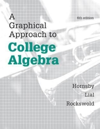 Student's Solutions Manual for a Graphical Approach to College Algebra 6th Edition 9780321900739 0321900731