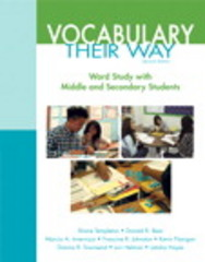 Vocabulary Their Way 2nd Edition 9780133746945 0133746941