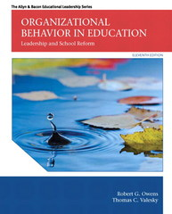 Organizational Behavior in Education 11th Edition 9780133489033 0133489035