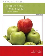 Curriculum Development 9th Edition 9780133572322 0133572323
