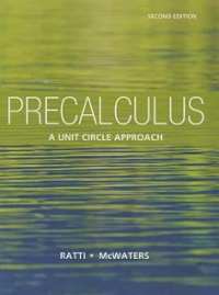 Student's Solutions Manual for Precalculus 2nd Edition 9780321825889 0321825888