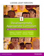 Developmentally Appropriate Curriculum 6th Edition 9780133798067 0133798062