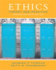 Ethics 11th Edition 9780133804058 0133804054