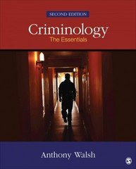 Criminology 2nd Edition 9781483350691 148335069X