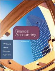 Financial Accounting 16th Edition 9780077862381 0077862384