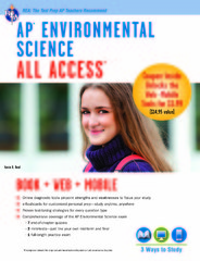 AP Environmental Science All Access Book + Online + Mobile 1st Edition 9780738684079 0738684074