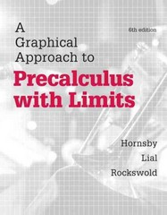 Graphical Approach to Precalculus with Limits, A,  Plus MyMathLab with eText-- Access Card Package 6th Edition 9780321900326 0321900324