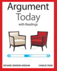 The Argument Today with Readings 1st Edition 9780205209675 020520967X