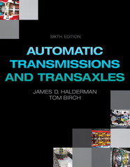 Automatic Transmissions and Transaxles 6th Edition 9780133564716 0133564711